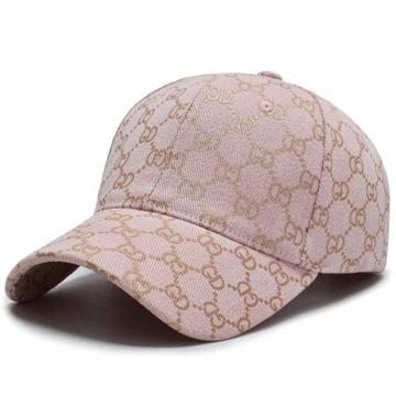 Nowa Różowa Czapka Z Guccim Alike Moda 2021