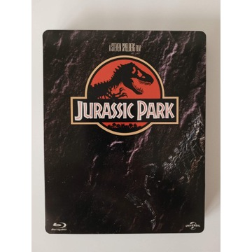 Park Jurajski BLU-RAY PL Steelbook stan jak nowy