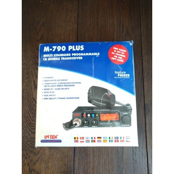 CB Radio M-790 Plus INTEK - SUPER STAN !!!