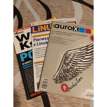 Zestaw- aurox, Linux, wielka księga porad 2006