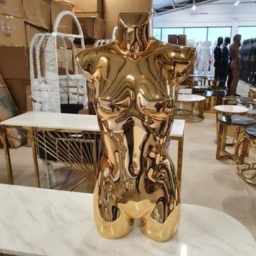 Manekin złoty glamour