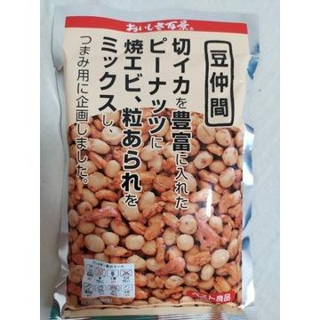 5x Mamenakama - japonski mix orzeszkow i kalmarow