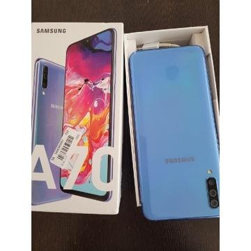 Samsung A70 okazja błekit