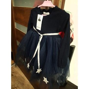 Piękna sukienka rozmiar 98, święta