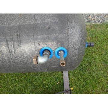 Bojler Elektromet 200 L duosol z wężownicą