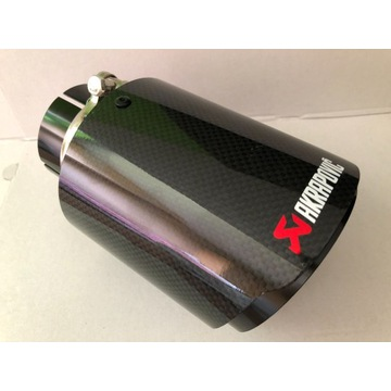 Końcówka wydechu AKRAPOVIC carbon 57/101 mm