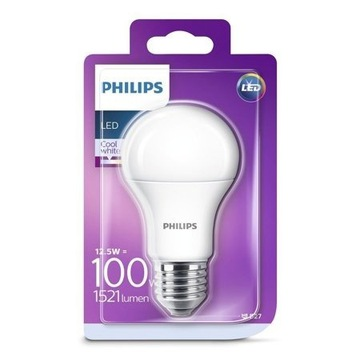 Żarówka LED A60 E27 12,5W 4000K 1521lm Philips