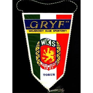 Proporczyk - Wojskowy Klub Sportowy GRYF -  Toruń