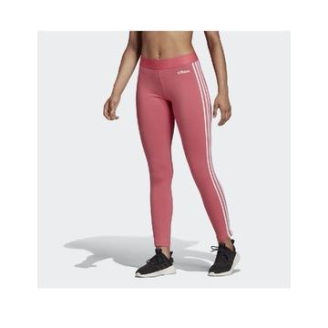 Legginsy Adidas spodnie różowe damskie XXL