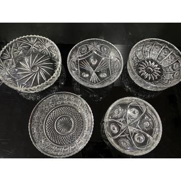 Kryształowe miski 5 sztuk do wyboru-szt 35zł