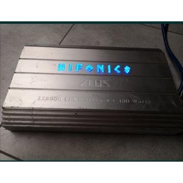 Wzmacniacz Hifonics Zeus ZX8000 300 WATTS