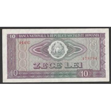Rumunia 10 lei 1966 - H.0247 - stan bankowy UNC