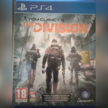 Tom Clancy's Division PL na PS4 Playstation 4
