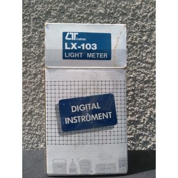 Światłomierz Luksomierz LUTRON LX-103