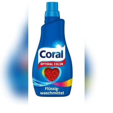 Coral żel do kolorów Optimal Color 22 Prań z De