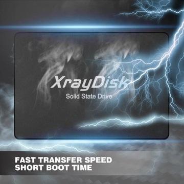 Nowy Dysk SSD 240GB XrayDisk Laptop Komputer z PL