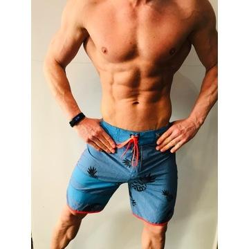 shorty fitness plażowe Hurley,-60% męskie