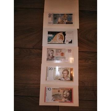 Banknoty kolekcjonerskie NBP