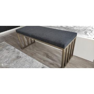 Nowoczesna ławeczka stalowa wysokie wykonanie