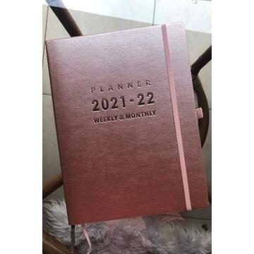 Plenner Kalendrz książkowy Akademicki 2021/22