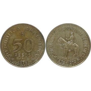 Argentyna 50 pesos 1979, KM#84