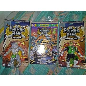 Figurki DC Funko jak He-man + komiks