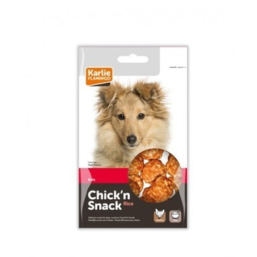 Chick'n snack chicken & rice balls 75g