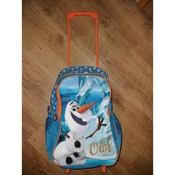 Simba Frozen Olaf plecak waliza na kółkach nowa