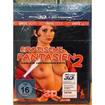 Erotyczne Fantazje 2 3D Blu-ray