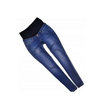 Jeansy spodnie ciążowe BloomingMarveloous rozm.40L