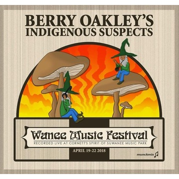 BERRY OAKLEY - WANEE 2018 CD/ ALLMAN BROTHERS BAND