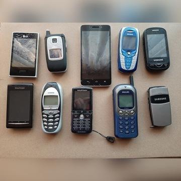 Różne telefony