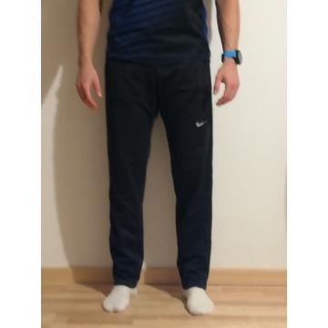 Męskie czarne spodnie biegowe Nike Running