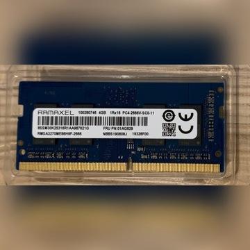RAM SODIMM DDDR4 4GB 2666MHz CL19 Ramaxel