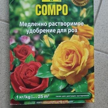 Nawóz długo działający do róż 1 kg Compo