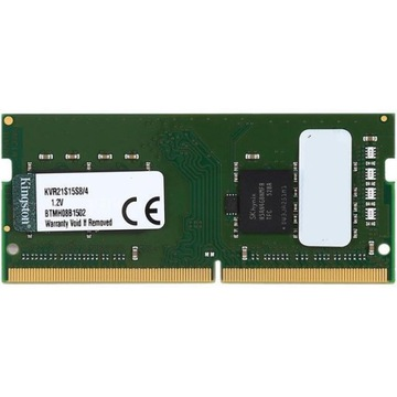 Kingston 4GB 2133MHz CL15 DDR4 SODIMM KVR21S15S8/4