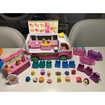 Shopkins mega zestaw autobus dzień dziecka