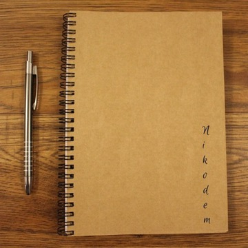 Notatnik Notes Imienny Pamiętnik A5 Bullet Planer