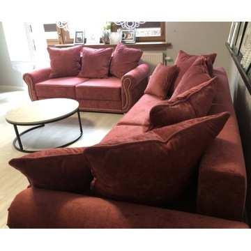 Sofa sofy 2 + 3 glamour funkcja spania