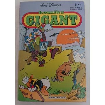 Komiks gigant 1/92-ideal