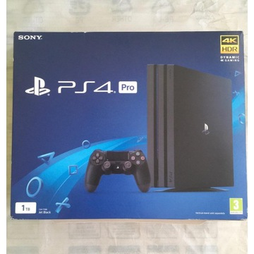 sony PS4 pro 1 TB PlayStation 4 + 2 pady + kamera