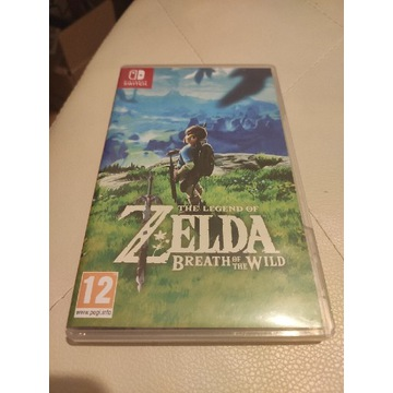 Zelda Breath od the Wild Nintendo Switch