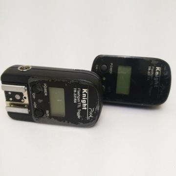 Wyzwalacze radiowe iTTL Pixel TR-331 Nikon komplet