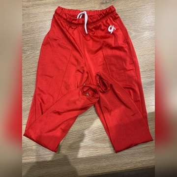 Spodnie gimnastyczne z zapiętkami USA roz.CL