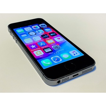Apple iPhone 5S 16GB Space Gray - Jak nowy!