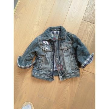 Kurtka jeansowa dla chłopca rozm 74