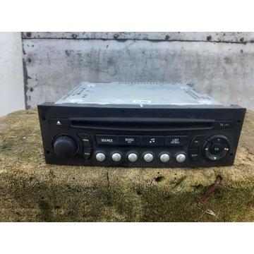 Radio Cd Odtwarzacz Citroen C3 II 208 oryginal