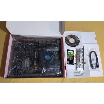 BIOSTAR TB85 jak TB250-BTC + PROC + 4GB RAM ETH