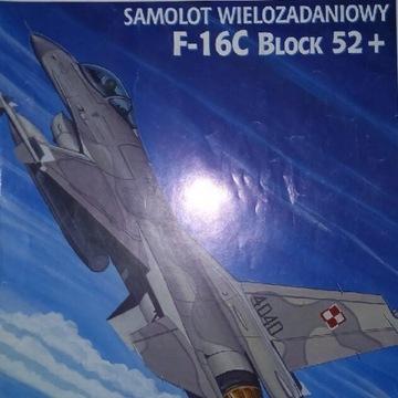 F-16 C Block 52+ polski, model kartonowy 1:33