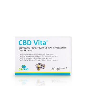 CARUN CBD Vita 30 kapsułki, tabletki
